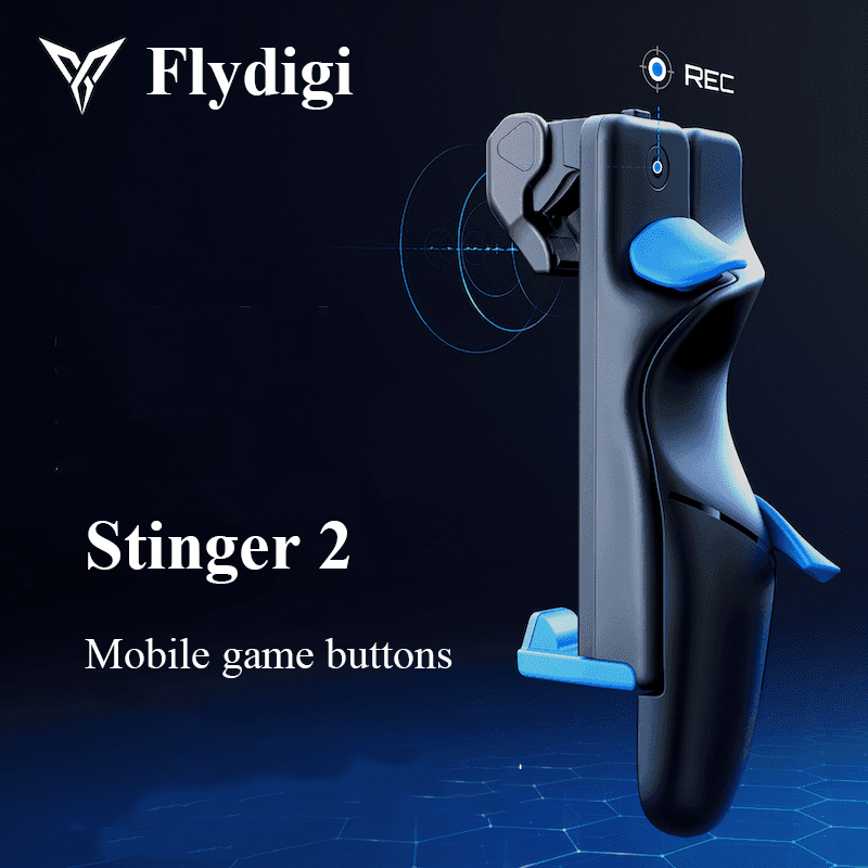 Flydigi Trigger 2 Generation Mobile Game Button PUBG COD Auxiliary Six-Finger Artifact iOS Android Automatic Pressure Gun