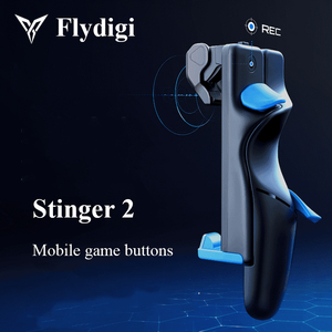 Flydigi Trigger 2 Generation Mobile Game Button PUBG COD Auxiliary Six-Finger Artifact iOS Android Automatic Pressure Gun(China)
