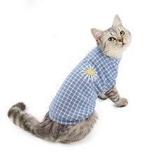 Одежда для кошек осенняя и зимняя одежда новая животных котенка