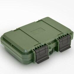 228x182x46mm wodoodporna plastikowa skrzynka narzędziowa odporny na wstrząsy powietrzoszczelny pojemnik schowek odporny na upadek w Skrzynki na narzędz. od Narzędzia na