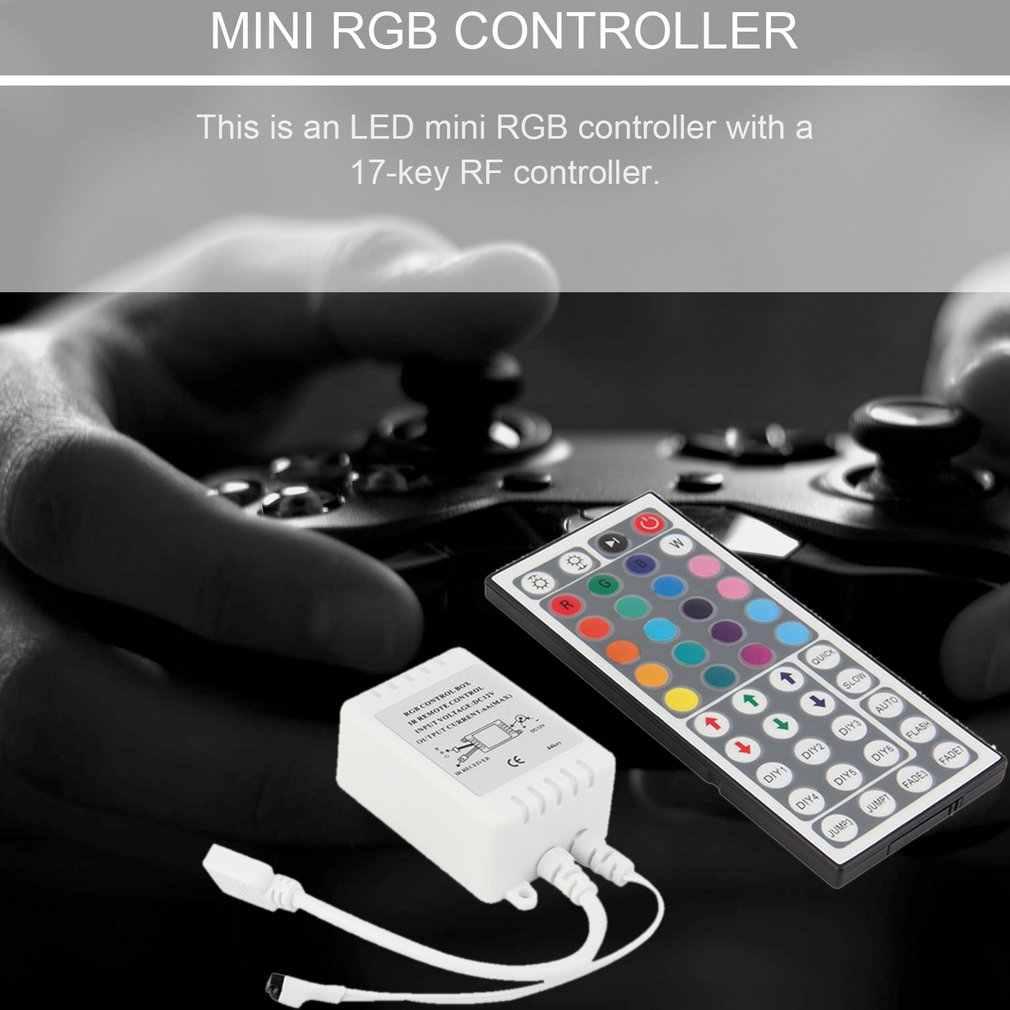 Mini télécommande IR 44 touches pour bande RGB SMD 5050 3528 lumière LED