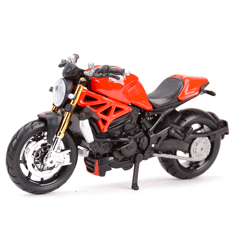 Maisto 1:18 Monster1200S Diecast Alloy Motorcycle Model Toy