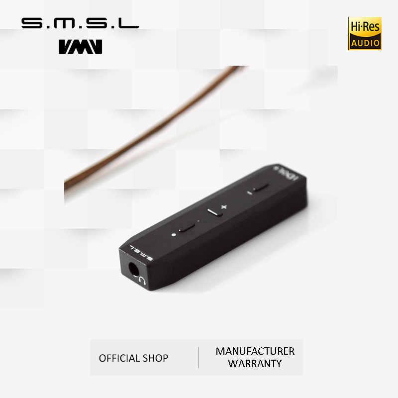 クリアランス SMSL アイドル + ミニヘッドフォンアンプ USB オーディオポータブル DAC MAX97220A 適切なほとんどのイヤホンマイクロ USB 24bit/ 192 125KHZ