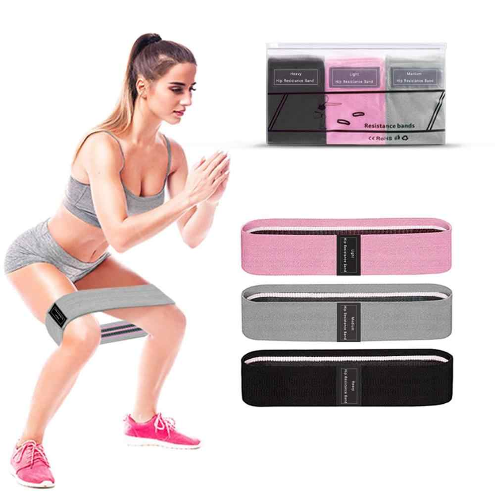 Fabric Resistance Bands Hip Circle Glute Booty Butt Exercise Loop Set Non Slip
