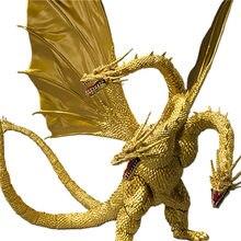 30cm Godzilla animacja filmowa SHM trzygłowy smok król o potworach Kitora 2 druga generacja ruchoma lalka kolekcja Figma