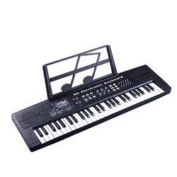 Engels Versie 54 Key KINDEREN Elektronische Toetsenbord Baby Vroege Jeugd Educatief Speelgoed Muziek Speelgoed Elektronische Orgel Volwassen Gift