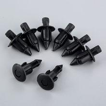 Yetaha 50 pçs plástico rebites push clipes do carro universal auto carenagem guarnição painel prendedor clipes 6mm x 12mm
