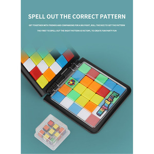Image 5 - Magic Building Blocks Game Toy Fun Board Game Frame Connection Magic Family Party Game Education Toy Childrens birthday gifts