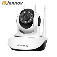 Jennov câmera de vigilância mini wifi câmera ip ptz sem fio de segurança cctv camara wi fi monitor do bebê two way áudio 2mp ipcamera