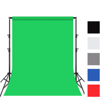3X4m photography background cotton textile plain fine cloth green screen blue red black gray white background studio professiona