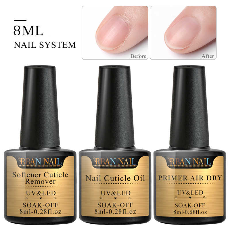 RBAN Nail Nagellak Olie UV Gel Waterontharder Cuticle Remover Nail Behandeling Vinger Tip Dode Huid Verzachten Olie Nail Cuticle remover