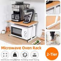 Adjustable Thickened Microwave Oven Rack Kitchen Microwave Rack Rice Cooker Oven Storage Stand Kitchen Appliances Storage