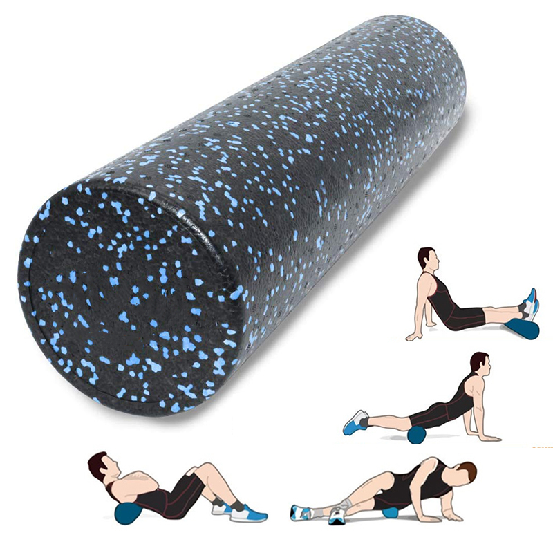 45CM Fitness Yoga Massage Roller EPP High Density Exercise Foam Roller Yoga Block For Physical Therapy, Deep Tissue Muscle Relex