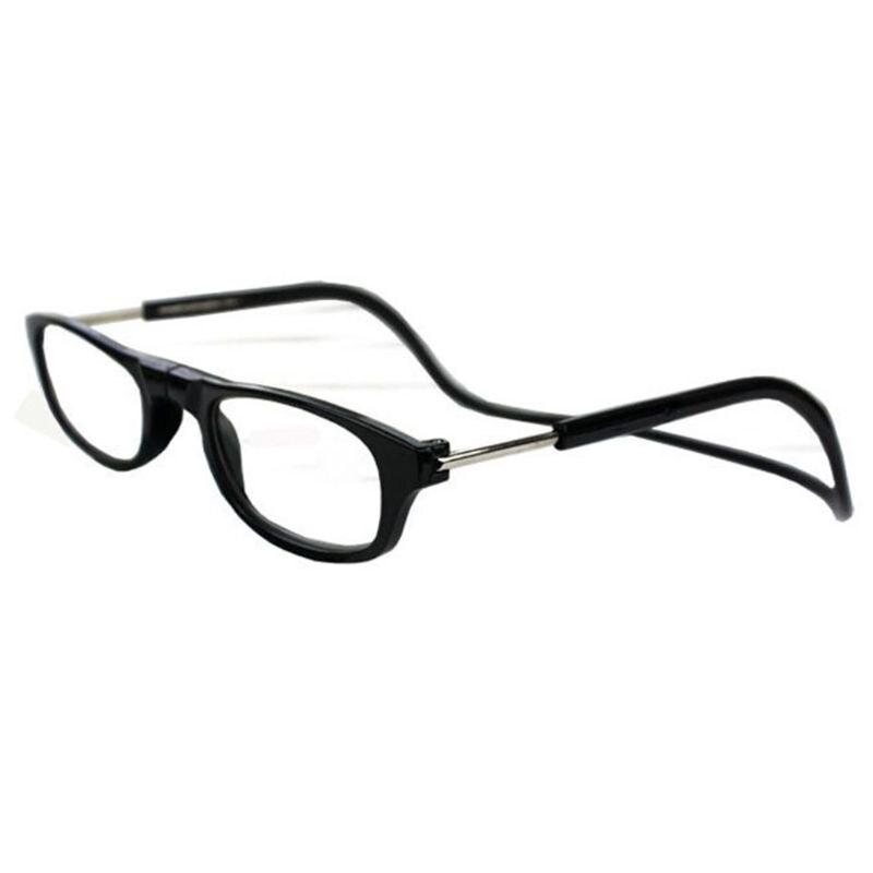 Fashion Magnet Eyewear Folding Hanging Neck Reading Glasses HD Resin Lens