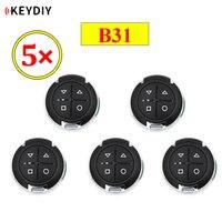 5 шт./лот KEYDIY B31 4 кнопки двери гаража KD общий пульт дистанционного управления для KD900 KD900 + URG200 KD-X2 пульт дистанционного управления Бесплатная ...