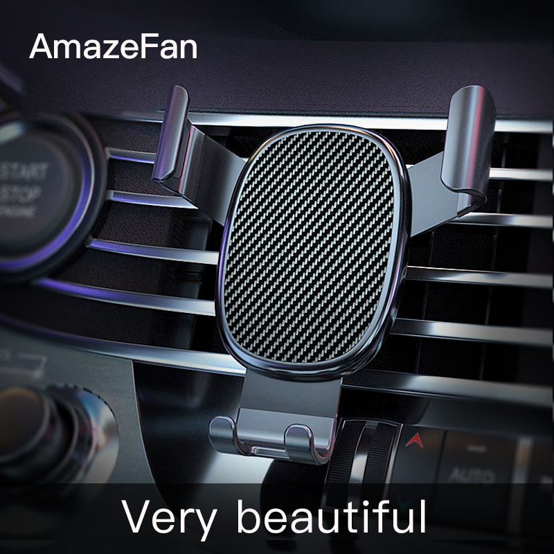 AmazeFan Car Phone Holder Stand Gravity for iPhone Support Stand Steady Bracket for Huawei Xiaomi Mobile Phone New 3