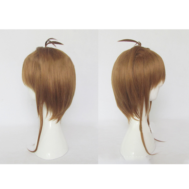HAIRJOY Synthetic Hair Card Captor Sakura Cosplay Wig Costume Party Wigs Free Shipping 5