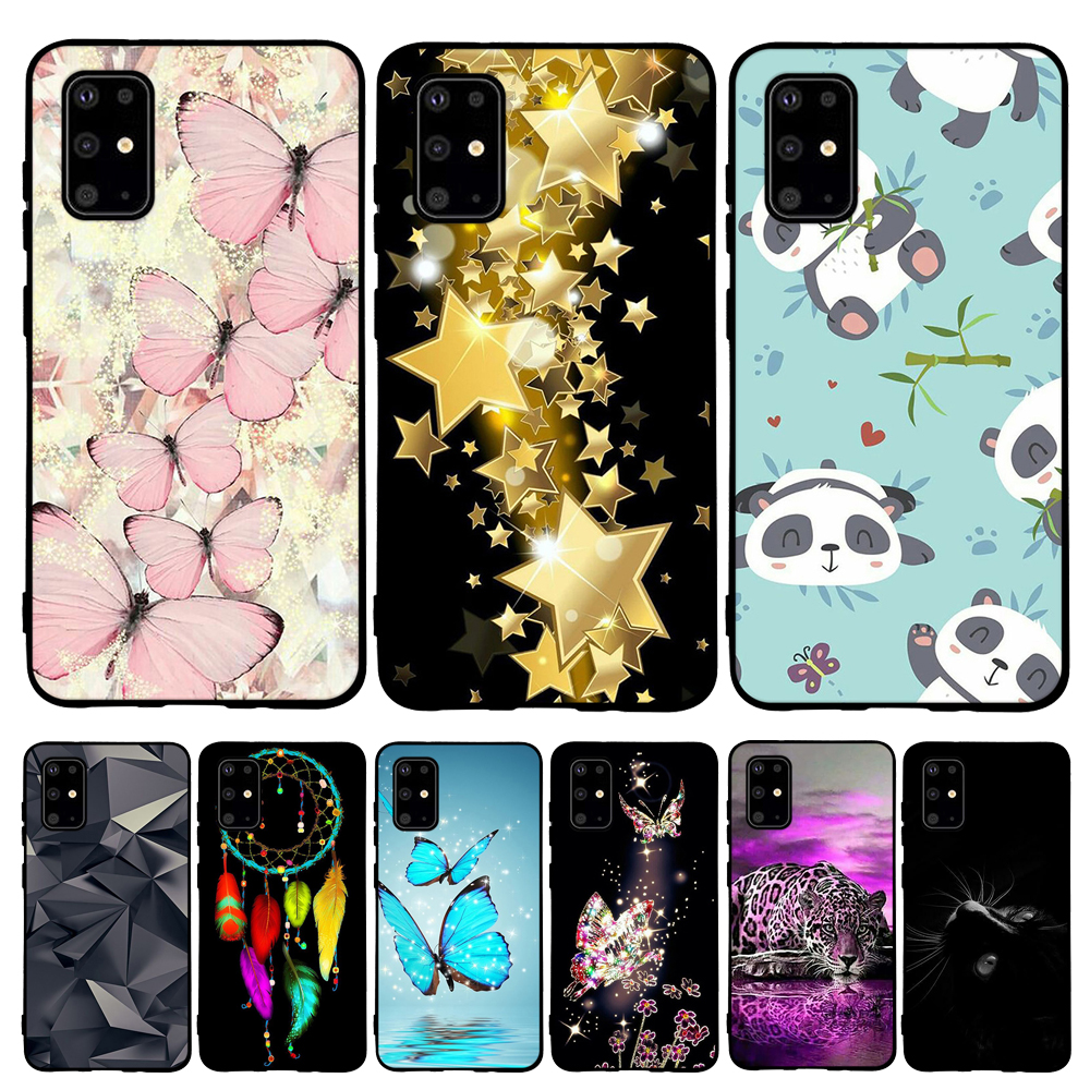 For Samsung Galaxy S20 Plus Cover Soft TPU Silicone For Samsung Galaxy S20 Plus Case Cat Funda For Samsung Galaxy S20 Plus Coque