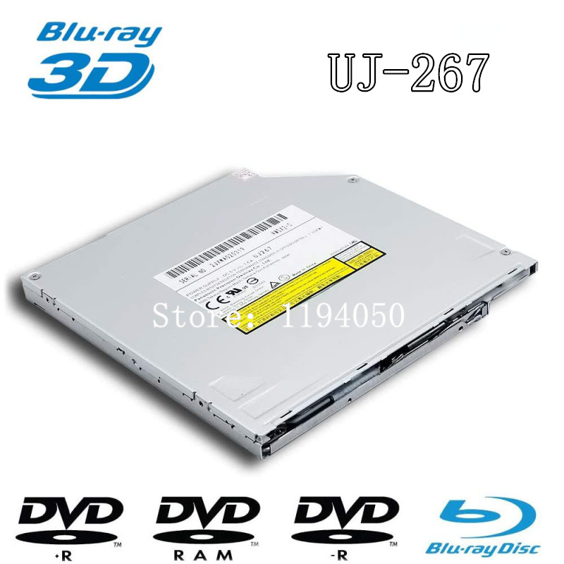 Genuine New for Matshita BD-MLT UJ272 Panasonic UJ-272 BD-RE DL 6X BD-R 3D Blu-ray Burner 4X BDXL 8X DVD+-RW Writer Laptop Internal 9.5mm Slim SATA Optical Drive