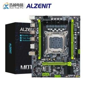 ALZENIT Intel Mainboard Server NGFF USB3.0 Xeon E5 DDR3 X79M-CE5 NVME REG ECC C602x79