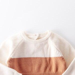 Image 3 - 2009 Nieuwe Baby Meisje Bodysuits Retro Colour Gebreide Kleding Bottom Gewikkeld Horsewear En Kruipen Kleding