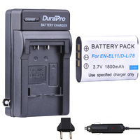 1pc EN EL11 EN EL11 D Li78 D Li78 NP BY1 NP BY1 Battery + Car Charger + EU Plug for Nikon Coolpix S550 S560 Pentax M50 W60 W80|eu plug|batteries battery chargerbattery charger -