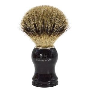 Image 1 - Brocha de afeitar de pelo supertejón puro para hombre bueno