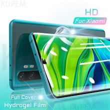 Folia hydrożelowa na całą okładkę do Xiaomi Mi Note 10 9 T 8 Pro Lite Mi10 Mi9 5G folia na wyświetlacz Mi9T 9 T Pro 9 Se 9Se 128GB nie szkło tanie tanio Kupem Jasne JP (pochodzenie) Hydrożel Film MI 8 Mi 8 Lite Xiaomi 10 Xiaomi 10 Pro Transparent 0 10mm Screen Protector Feature