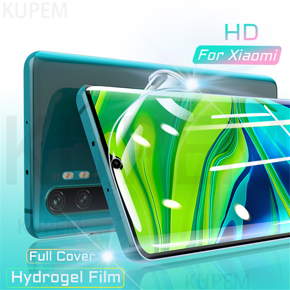 Full Cover Hydrogel Film For Xiaomi Mi Note 10 9 T 8 Pro Lite Mi10 Mi9 5G Screen Protector Mi9T 9T Pro 9 Se 9Se 128GB Not Glass(China)