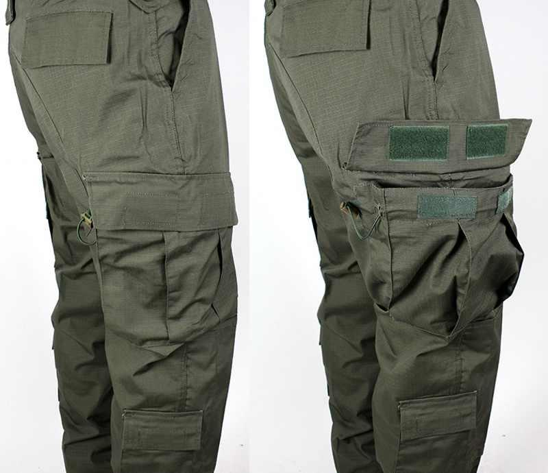 Taktis Airsoft Militer Tentara Seragam Bdu Tempur Kemeja & Celana Set Luar Ruangan Paintball Pelatihan Berburu Pakaian