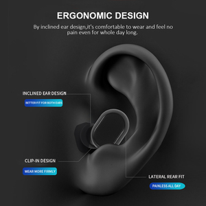 Image 3 - Blumusi k1 tws fones de ouvido sem fio bluetooth 5.0 verdadeira redução ruído estéreo sem fio mini baixo