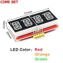HT16K33 0.54 pouce 0.54 ''4 bits mètre Tube numérique Module d'affichage à LED IIC I2C compteur de contrôle 3.3V 5V pour Arduino rouge/vert/Orange