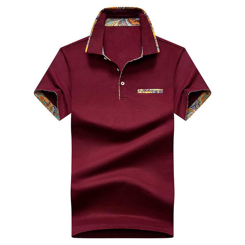 고품질 솔리드 컬러 3D 자수 폴로 셔츠 캐주얼 폴로 셔츠 남성용 반팔 티셔츠 2020 New Arrival polosshirt