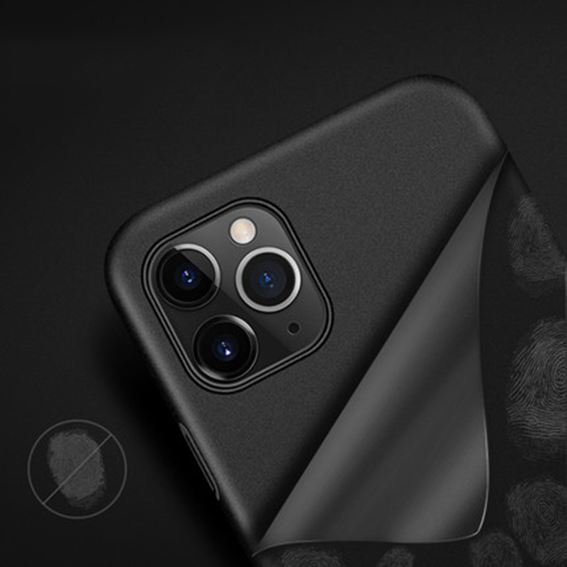 Slim Sandstone Full Cover Hard Matte Case For iPhone 12 Pro