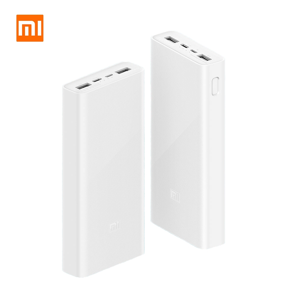 Xiaomi Power Bank 3 QC3.0 Fast Charging 20000mAh Capacity Portable charger Batterie externe PD 18W for iPhone 11 Pro OPPO VIVO
