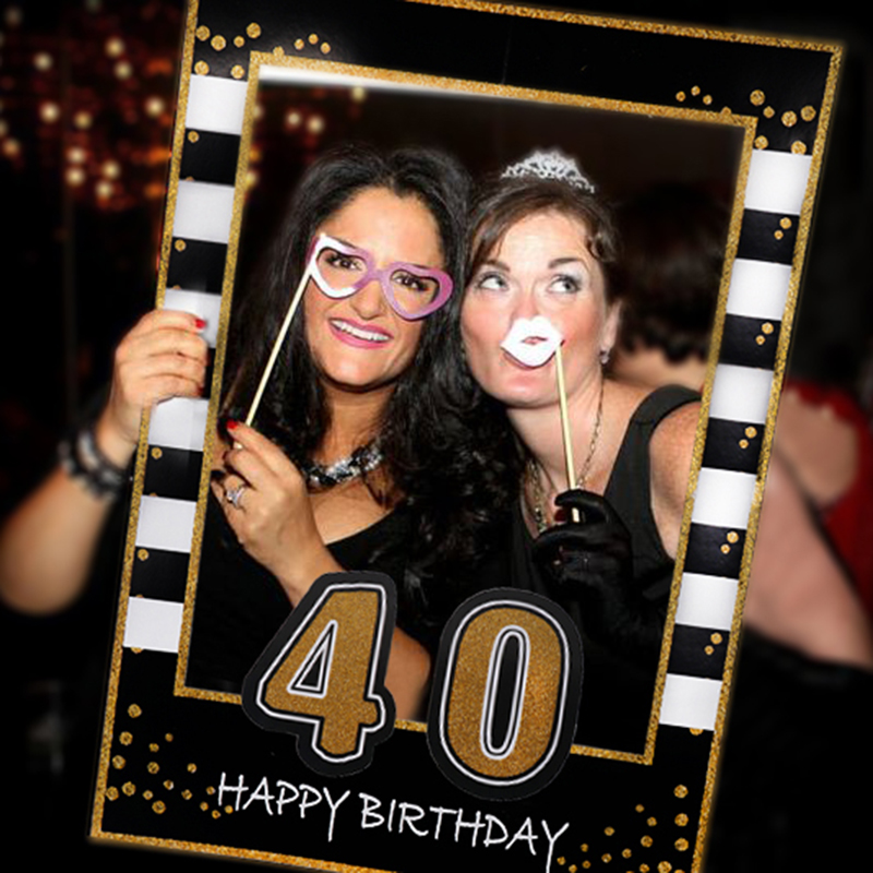 1 st 21 <font><b>30</b></font> 40 50 60 40age birth day <font><b>party</b></font> photo hand holder frame booth props adult birthday <font><b>parties</b></font> <font><b>decor</b></font> 50year birthday use image