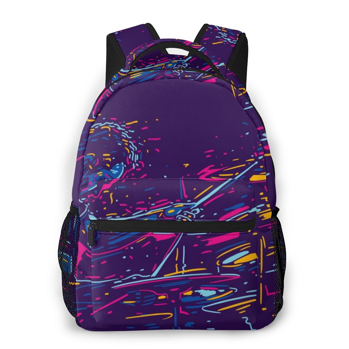 2020 New Style Backpack Boy Teenagers Nursery School bag Abstract Rock Drummer Player back to school bag image