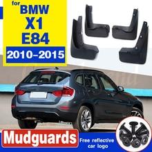 4pcs Automobiles accessories For BMW X1 E84 2010-2015 Mud Flap fender Splash Guard Mudguard Car styling auto mud flap splash guard mudguard for mercedes benz c class w204 2007 2010 car accessories 4pcs