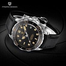 Pagani Ontwerp Mannen Horloges 007 Commander Top Merk Luxe Mechanische Automatische Horloge Mannen Sport Rvs Klok Japan NH35