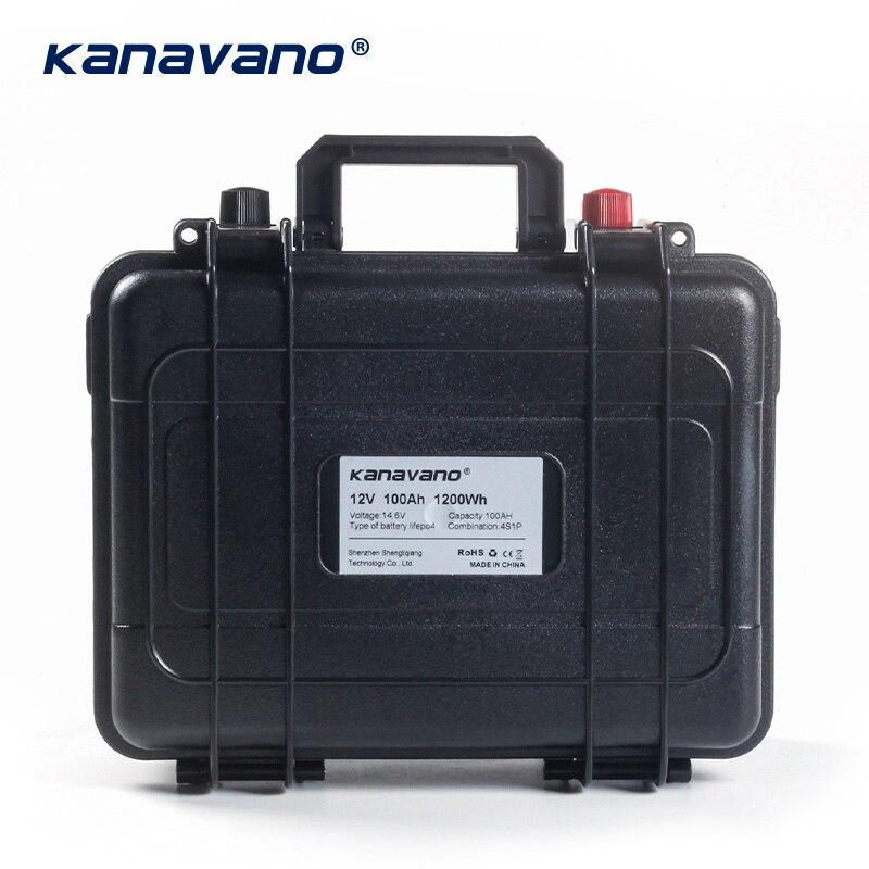 12v 100Ah ciclo profundo Lifepo4 batería de fosfato de hierro de litio BMS incorporado para carrito de Golf EV RV batería de almacenamiento de energía Solar - 3