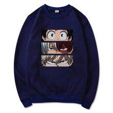 Мужская толстовка с принтом my hero academic Повседневный пуловер