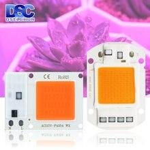 Светодиодный чип для выращивания 10 Вт 20 30 50 полный спектр