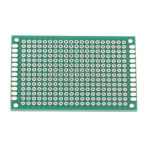 Image 2 - 10PCS FR 4 Double Side Prototype PCB 280 Points Hole Tinned Universal Breadboard 4x6cm 40mmx60mm