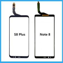 Für Samsung Galaxy S8 Plus/Hinweis 8 Touch panel Ersatz Für Samsung S8 Plus Schwarz Touchscreen Digitizer Glas panel Reparatur