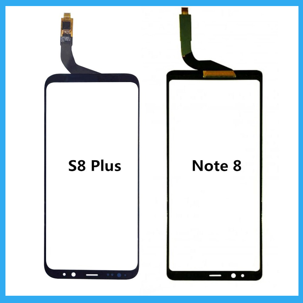 For Samsung Galaxy S8 Plus / Note 8 Touch panel Replacement For Samsung S8 Plus Black Touch Screen Digitizer Glass Panel Repair-in Mobile Phone Touch Panel from Cellphones & Telecommunications on