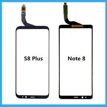 Painel de substituição para samsung galaxy, digitalizador touchscreen, preto, para s8 plus/note 8 reparo do painel