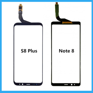Image 1 - لسامسونج غالاكسي S8 زائد/نوت 8 لوحة اللمس قطع غيار سامسونج S8 زائد الأسود محول الأرقام بشاشة تعمل بلمس إصلاح لوحة الزجاج