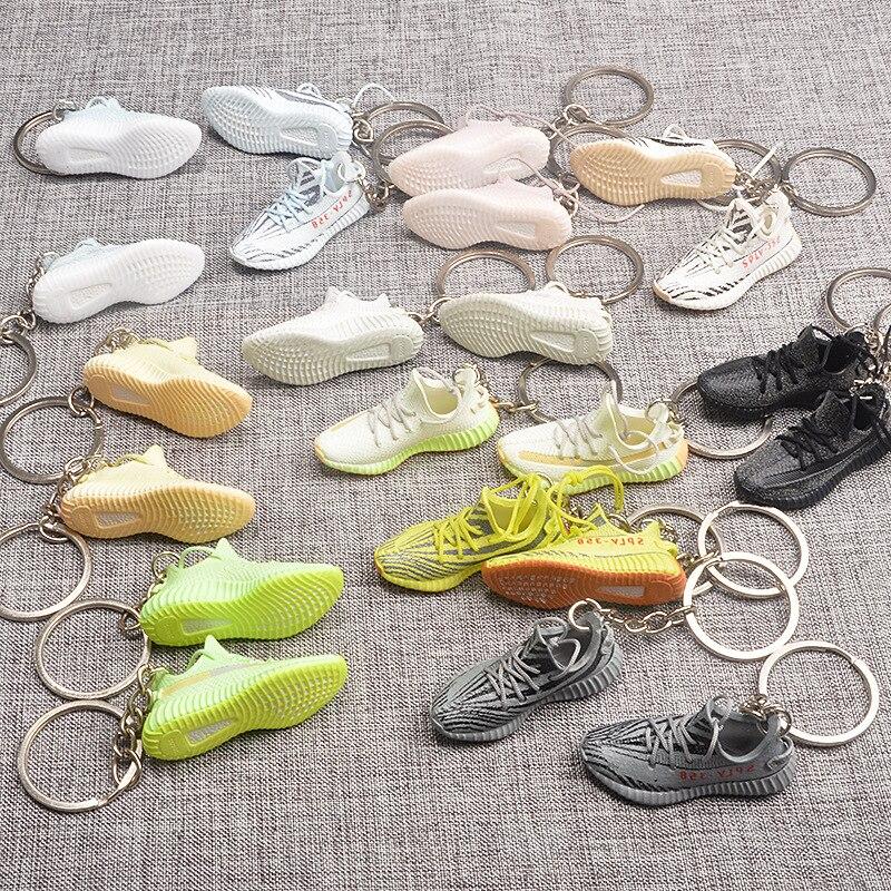 Лидер продаж, модная модель баскетбольной обуви, брелок «сделай сам», подвеска для сумки, мини Баскетбольная обувь, креативный подарок, гадж...