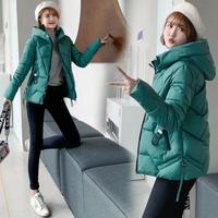 M 6XL Women Winter Hooded Warm Coat Plus Size Candy Color Cotton Padded Jacket Female Long Parka Womens Wadded Woman Outwear