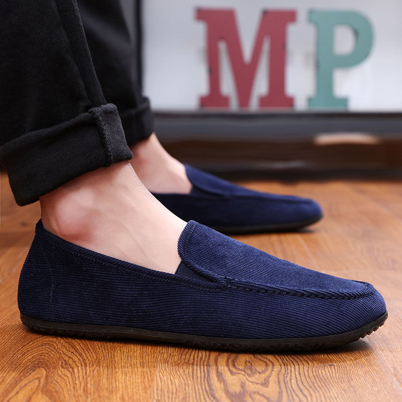 Spring Summer NEW Men's Loafers Comfortable Flat Casual Shoes Men Breathable Slip-On Soft Leather Driving Shoes Moccasins 2020
